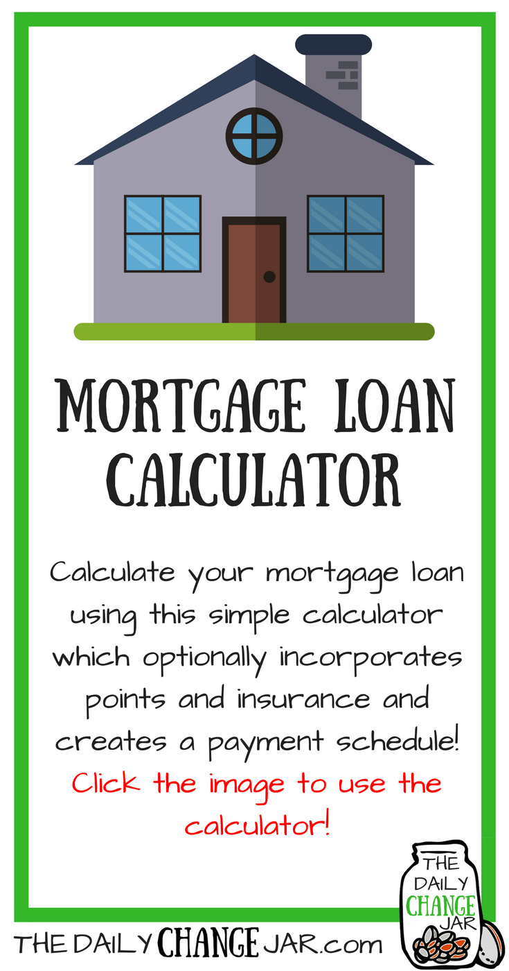 Have you been looking into purchasing a house? Calculate your mortgage loan uisng this simple calculator which optionally incorporates points and insurance and creates a payment scheudle! Click the image, enter your predicted amounts and out pops a payment scheudle! 401k | betterment | budget | debt | fidelity | financial independence | index funds | investing | ira | mortgage | personal capital | personal finance | real estate investing | retirement | roth ira | saving | side hustle | stock investing | student loans | vanguard | wealthfront | jobs | career | credit | bankruptcy
