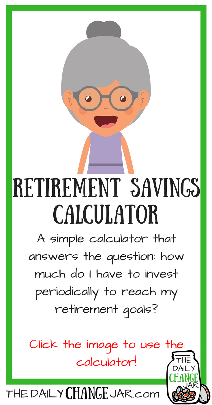 Do you know how much you need to be saving in order to reach your retirement goals? Use this simple calculator to determine how much you should be investing! Click the image, enter your a few stats and out pops your predictions! 401k | betterment | budget | debt | fidelity | financial independence | index funds | investing | ira | mortgage | personal capital | personal finance | real estate investing | retirement | roth ira | saving | side hustle | stock investing | student loans | vanguard | wealthfront | jobs | career | credit | bankruptcy