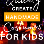 halloween decoration with text overlay