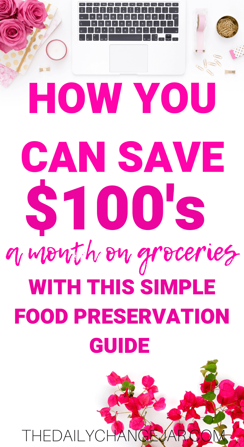 How you can save $100's a month on groceries with this simple food preservation guide. Don't waste your hard earned money on food, prevent food spoilage with this handy chart! #preventfoodspoilage #savemoneyongroceries #frugalmeals #mealplanning #properfoodstorage #preventingspoilage #howtostorefruitsandvegetables