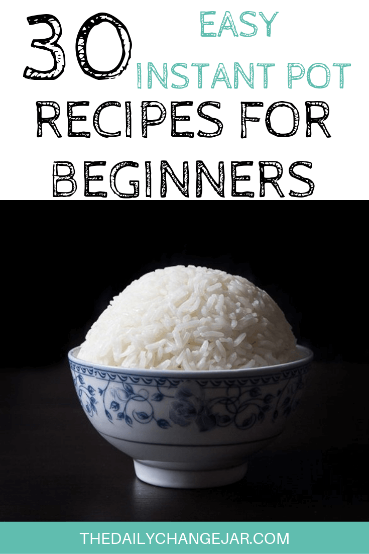Pressure cooking is such a time-saving cooking method, many households have jumped on the Instapot bandwagon. Are considering (or have already bought) a pressure cooker? Click here to see all 30 Instant Pot recipes for beginners to get you started cooking like a pro. #instantpotrecipesforbeginners #instantpot #instantpotrecipes #pressurecooker #pressurecookerrecipes #instantpotchicken #instantpotchickenrecipes #instapotrecipes #bestinstantpotrecipes #ricerecipes