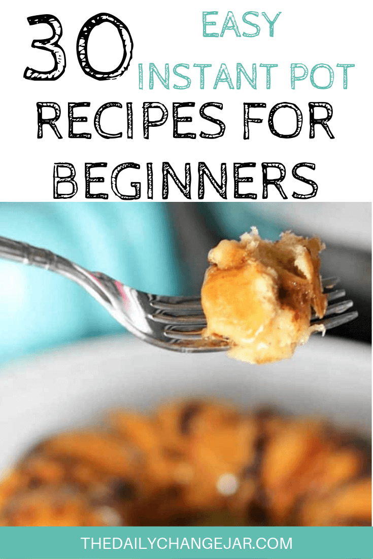 Pressure cooking is such a time-saving cooking method, many households have jumped on the Instapot bandwagon. Are considering (or have already bought) a pressure cooker? Click here to see all 30 Instant Pot recipes for beginners to get you started cooking like a pro. #instantpotrecipesforbeginners #instantpot #instantpotrecipes #pressurecooker #pressurecookerrecipes #instantpotchicken #instantpotchickenrecipes #instapotrecipes #bestinstantpotrecipes #monkeybread