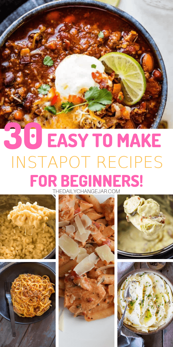 Pressure cooking is such a time-saving cooking method, many households have jumped on the Instapot bandwagon. Are considering (or have already bought) a pressure cooker? Click here to see all 30 Instant Pot recipes for beginners to get you started cooking like a pro. #instantpotrecipesforbeginners #instantpot #instantpotrecipes #pressurecooker #pressurecookerrecipes #instantpotchicken #instantpotchickenrecipes #instapotrecipes #bestinstantpotrecipes