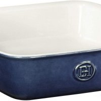 Emile Henry (Made In France) HR Modern Classics Square Baking Dish 8 x 8/2 Qt, 9 x 9, Twilight Blue