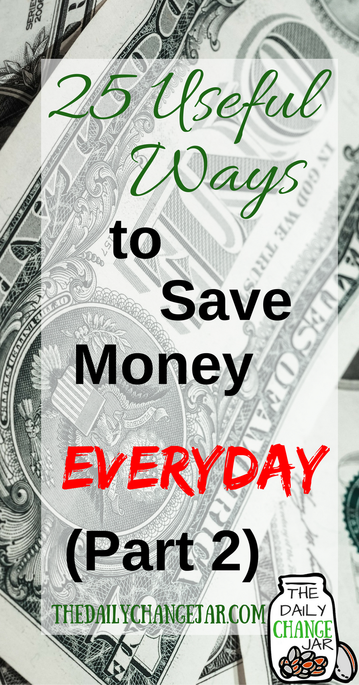 Are you always looking for creative new ways to save money? Here is a list of 25 ways you can start saving more money today. Click the image to check out the list of 25 ways to save more money today! 401k | betterment | budget | debt | fidelity | financial independence | index funds | investing | ira | mortgage | personal capital | personal finance | real estate investing | retirement | roth ira | saving | side hustle | stock investing | student loans | vanguard | wealthfront | jobs | career | credit | bankruptcy