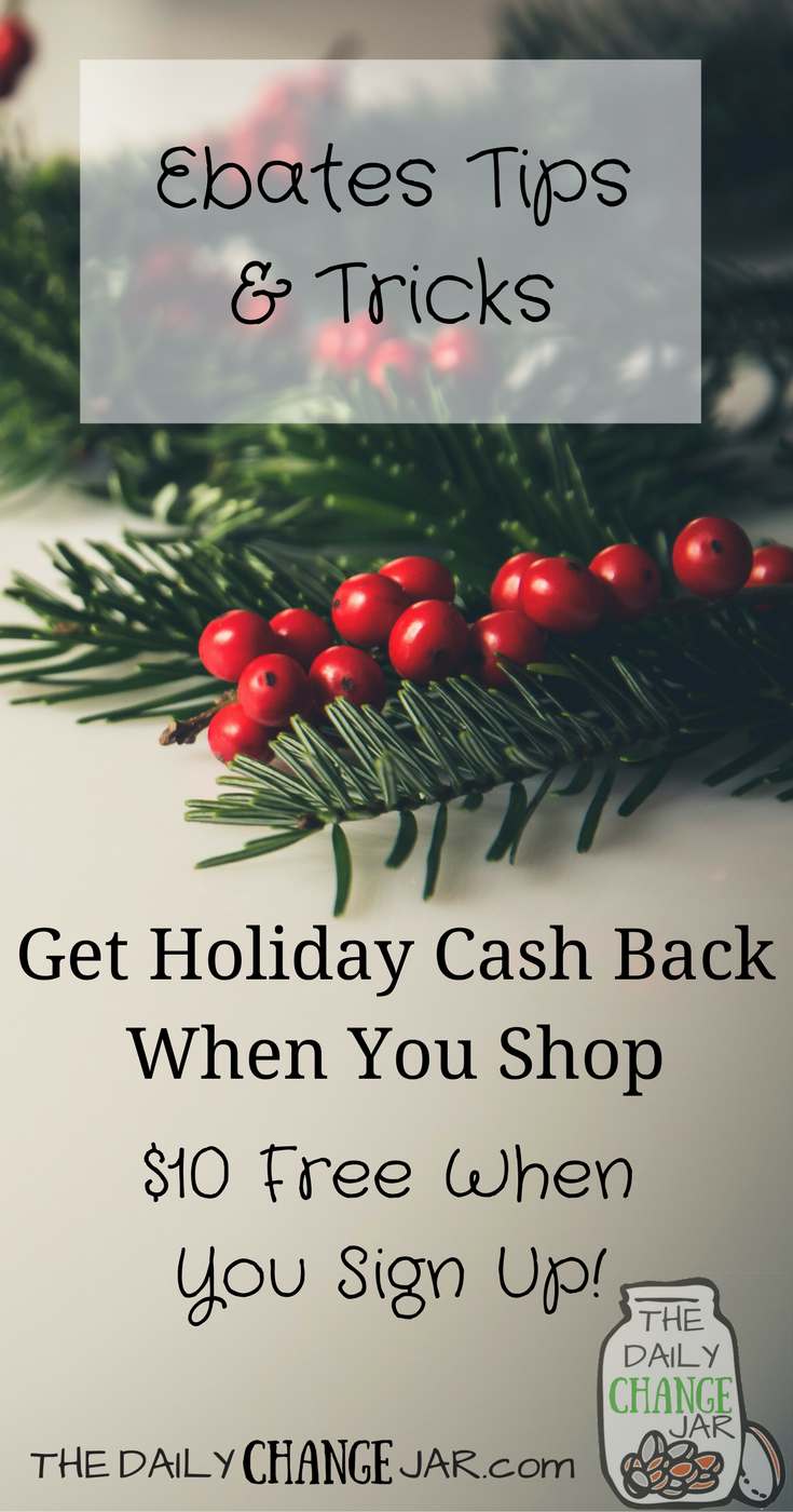 Do you still have Christmas shopping to do? Why not earn some extra cash for doing something you already do, shopping online. Check out my latest post on how to use Ebates to get the MAX amount of cash back when shopping online. ebates tips, ebates shopping, ebates website, how to use ebates, ebates stores, review, referral, canada, gift cards, products, make money shopping, extra cash