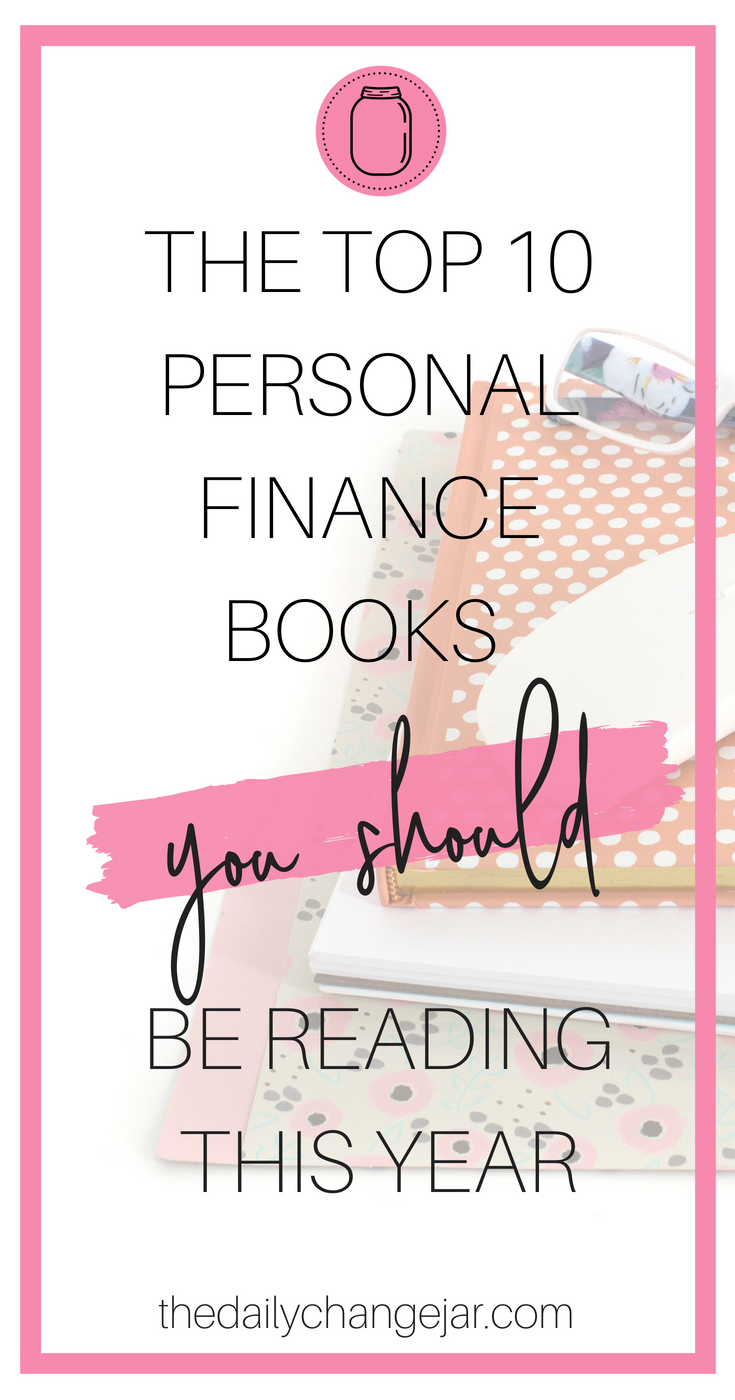 You love learning about personal finance right? Of course you do! In this post I suggest 10 different books that every personal finance junkie should have on thier bookshelf-plus a bonus for ladies only! So click the image to find out what they are! #reading #books #library #readinglist #personalfinancebooks #totalmoneymakeover #richdadpoordad #themillionairenextdoor #thinkandgrowrich #theothereighthours #crushit #youareabadass