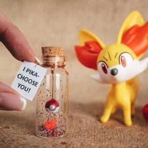 Boyfriend Gift Pokemon go lovers gift Girlfriend Gift Pokeball Valentine's gift for her I choose you Pikachu gift for him Anniversary Gift