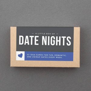 "Valentine Gift for Boyfriend, Him, Husband, Girlfriend, Her, Woman, Wife. Romantic, Sexy, Funny, Love, Sweet, Box. ""Date Night"" (L5DAT)"