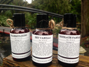 All natural, edible massage oil: Chocolate, Vanilla, Tranquillizing, Aphrodisiac, massage oil, Valentines gift, boyfriend gift, aromatherapy