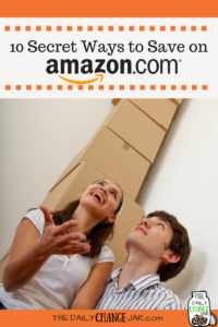 While we all know the savings to be had at Amazon, here are ten little known was to save money (and make some cash back) while shopping on Amazon.com! #amazon #savemoney #saveonamazon #savemoneyonamazontips #saveonamazonproducts #freestuff