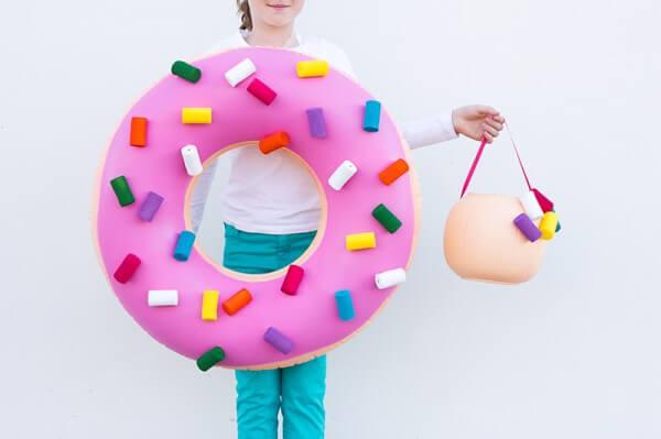 DIY Giant Donut Costume