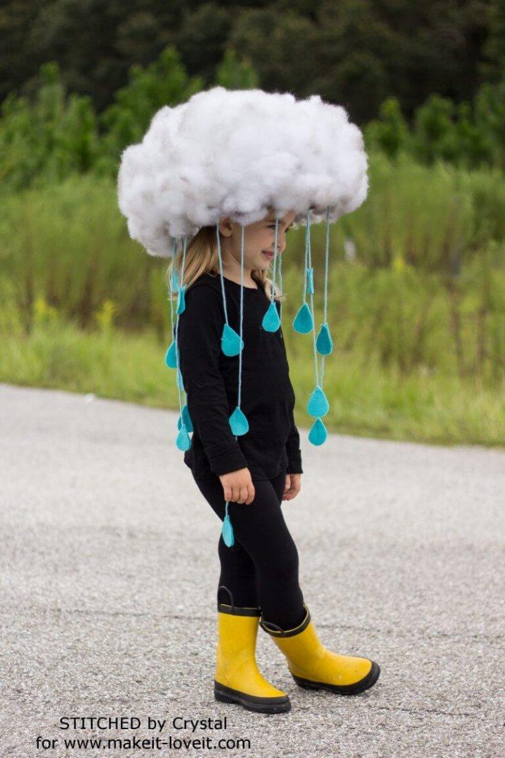 Quick & Easy RAIN CLOUD COSTUME