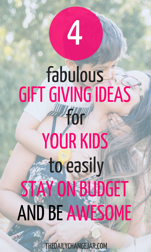 5 fabulous gift giving ideas for your kids to easily stay on budget and be awesome. What do you give your kids for Christmas? Don't spoil them with things they will forget about in a few weeks! Click the image to read the post on the ONLY 4 things you should be getting your kids for Christmas that they will love and appreciate. #giftsforkids #christmas #giftgiving #giftchallenge #giftsforboys #giftsforgirls #4giftchallenge #christmasgifts #need #want #read #wear #needwantwearread #educationaltoys #christmasgiftsdiy