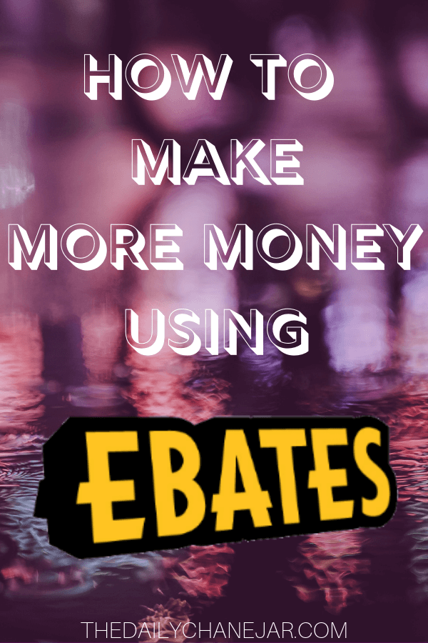 How to make more money using Ebates. Tips and tricks on how to save the most money by using Ebates to get cash back on all your online purchases! Click the image to learn how to maximize your Ebates earnings. #ebatestips #ebatesshopping #howtouseebates #ebatesreview #ebateshacks #ebatesstores #ebatesgiftcards #ebatesreviews