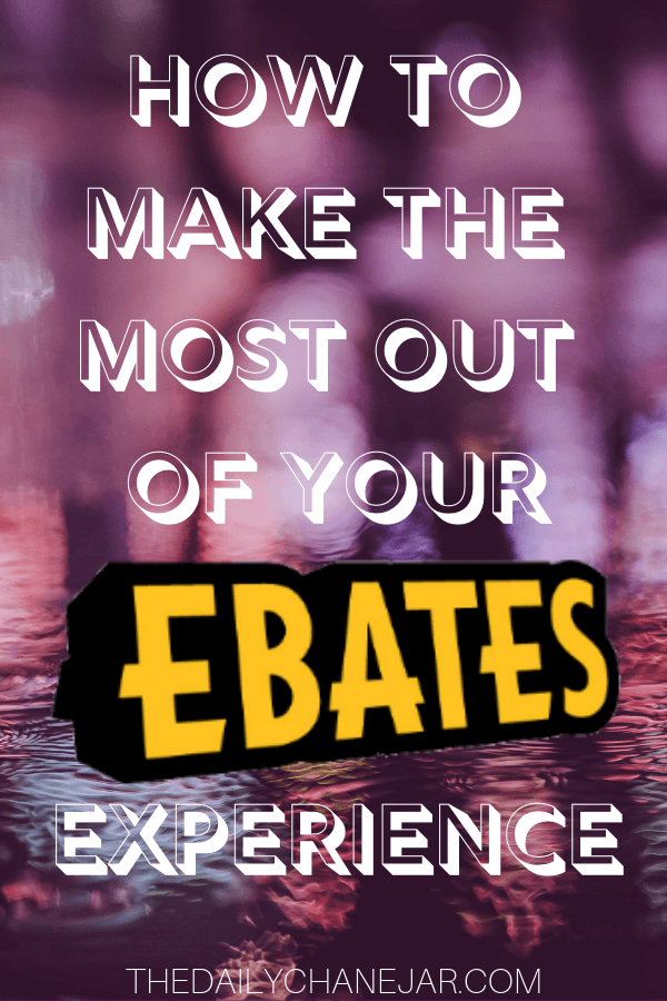 How to make the most out of your Ebates experience. Tips and tricks on how to save the most money by using Ebates to get cash back on all your online purchases! Click the image to learn how to maximize your Ebates earnings. #ebatestips #ebatesshopping #howtouseebates #ebatesreview #ebateshacks #ebatesstores #ebatesgiftcards #ebatesreviews