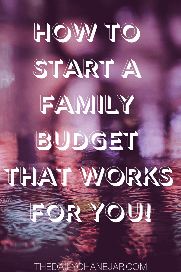 How to start a family budget that works for you. Setting up a family budget doesn't have to be difficult. You have to make sure that you take a real look at what is coming and as well as what is going out. A simple plan to help you get started budgeting without a fuss, Click the image to find out how you can easily set up a budget today. #familybudgetingspreadsheet #familybudgetingprintables #familybudgetingoneincome #familybudgetingpayoffdebt #familybudgetingmeals #budgetplanner #daveramsey #budgettemplate #familybudgetingideas #familybudgetingtips