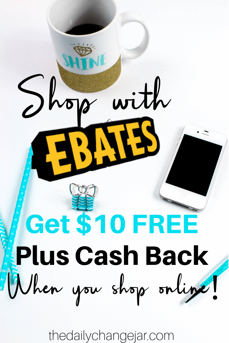 Shop with ebates and get $10 free plus cash back. Tips and tricks on how to save the most money by using Ebates to get cash back on all your online purchases! Click the image to learn how to maximize your Ebates earnings. #ebatestips #ebatesshopping #howtouseebates #ebatesreview #ebateshacks #ebatesstores #ebatesgiftcards #ebatesreviews