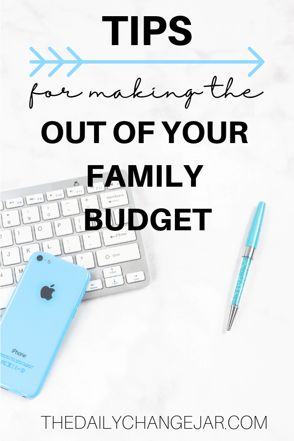 Tips for making the most out of your family budget. Setting up a family budget doesn't have to be difficult. You have to make sure that you take a real look at what is coming and as well as what is going out. A simple plan to help you get started budgeting without a fuss, Click the image to find out how you can easily set up a budget today. #familybudgetingspreadsheet #familybudgetingprintables #familybudgetingoneincome #familybudgetingpayoffdebt #familybudgetingmeals #budgetplanner #daveramsey #budgettemplate #familybudgetingideas #familybudgetingtips