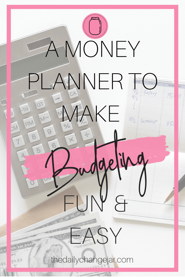 Have you been looking for a money planner to help organize your finances? Then look no further! An easy to use planner to keep you on track with budgeting.  Click the image to check out the money planner. #moneyplannerorganization #printablemoneyplanner #financialmoneyplanner #financialplanningmoneyplanner #moneyplannerideas #moneyplannerdiy moneyplannerbudgetbinder