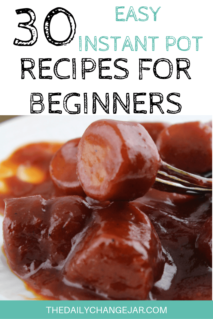 Pressure cooking is such a time-saving cooking method, many households have jumped on the Instapot bandwagon. Are considering (or have already bought) a pressure cooker? Click here to see all 30 Instant Pot recipes for beginners to get you started cooking like a pro. #instantpotrecipesforbeginners #instantpot #instantpotrecipes #pressurecooker #pressurecookerrecipes #instantpotchicken #instantpotchickenrecipes #instapotrecipes #bestinstantpotrecipes #kielbasa
