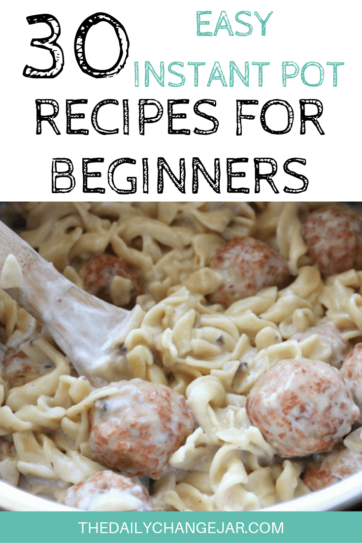 Pressure cooking is such a time-saving cooking method, many households have jumped on the Instapot bandwagon. Are considering (or have already bought) a pressure cooker? Click here to see all 30 Instant Pot recipes for beginners to get you started cooking like a pro. #instantpotrecipesforbeginners #instantpot #instantpotrecipes #pressurecooker #pressurecookerrecipes #instantpotchicken #instantpotchickenrecipes #instapotrecipes #bestinstantpotrecipes #swedishmeatballs
