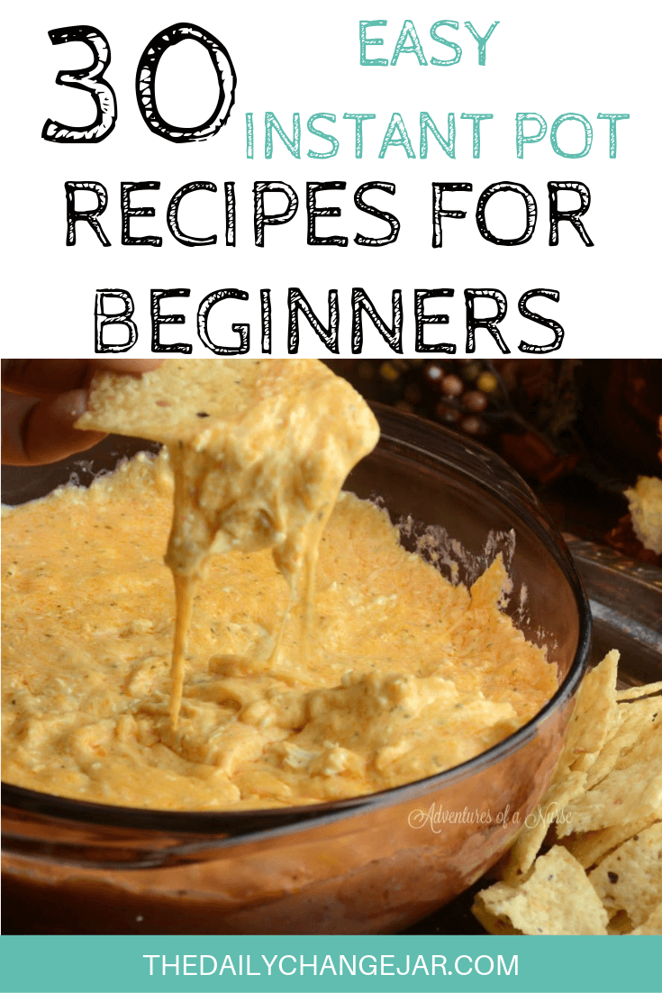 Pressure cooking is such a time-saving cooking method, many households have jumped on the Instapot bandwagon. Are considering (or have already bought) a pressure cooker? Click here to see all 30 Instant Pot recipes for beginners to get you started cooking like a pro. #instantpotrecipesforbeginners #instantpot #instantpotrecipes #pressurecooker #pressurecookerrecipes #instantpotchicken #instantpotchickenrecipes #instapotrecipes #bestinstantpotrecipes #buffalochickendip