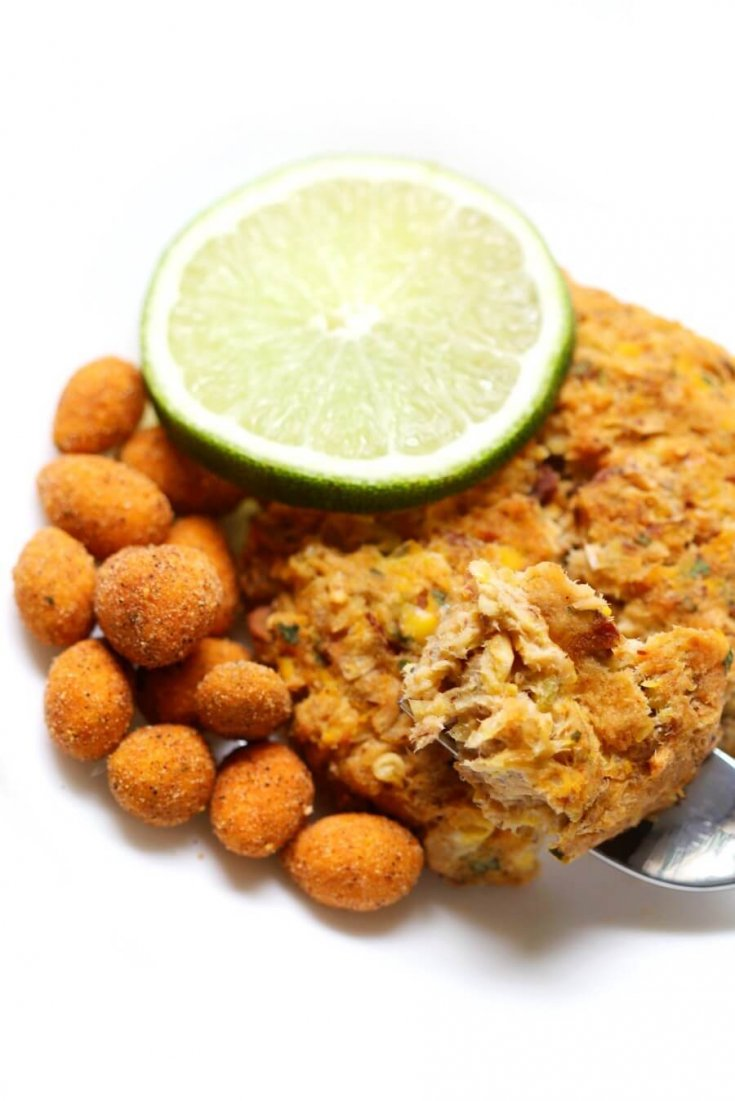 Chili Lime Tuna Fishcakes (Gluten-Free)