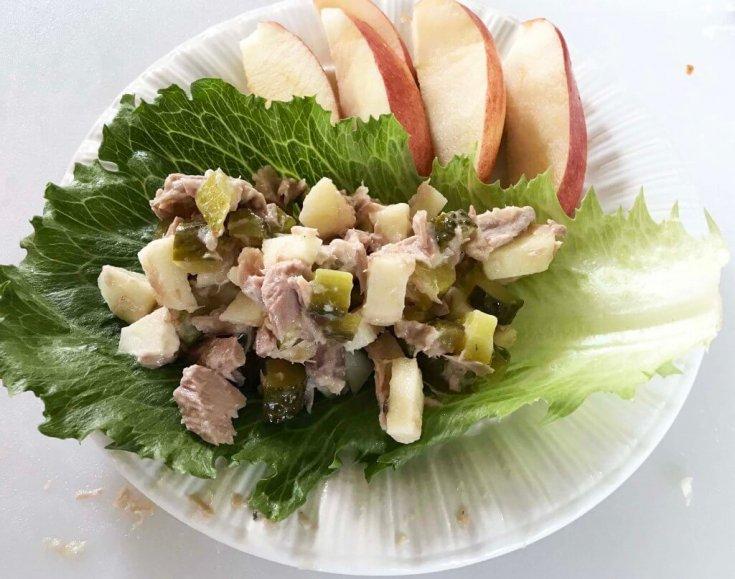 Healthy Tuna Salad Wrap- 2 ways