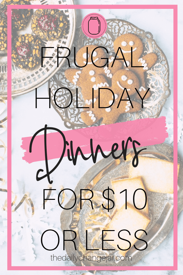 Save a little extra money this holiday season with some frugal holiday meal ideas. Your family and guests are sure to love these frugal holiday dinners. Click to see all 17+ frugal holiday recipes. #frugalsidedishes #frugaldinners #thanksgivingrecipes #christmasrecipes #holidaydishes #holidaymealsonabudget #frugaldinners #savemoney #dinnerforacrowd