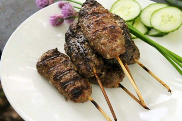 The Best Grilled Beef Kofta Kebab Recipe