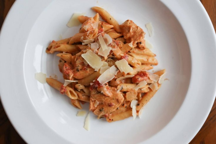 Creamy Italian Chicken with Penne