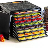 Excalibur 3900B 9-Tray Electric Food Dehydrator with Adjustable Thermostat Accurate Temperature Control