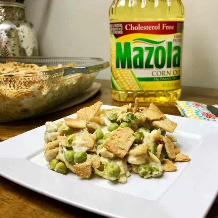 Better For You Tuna Pasta Casserole Recipe