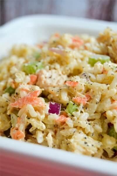 Easy Tuna Rice Salad