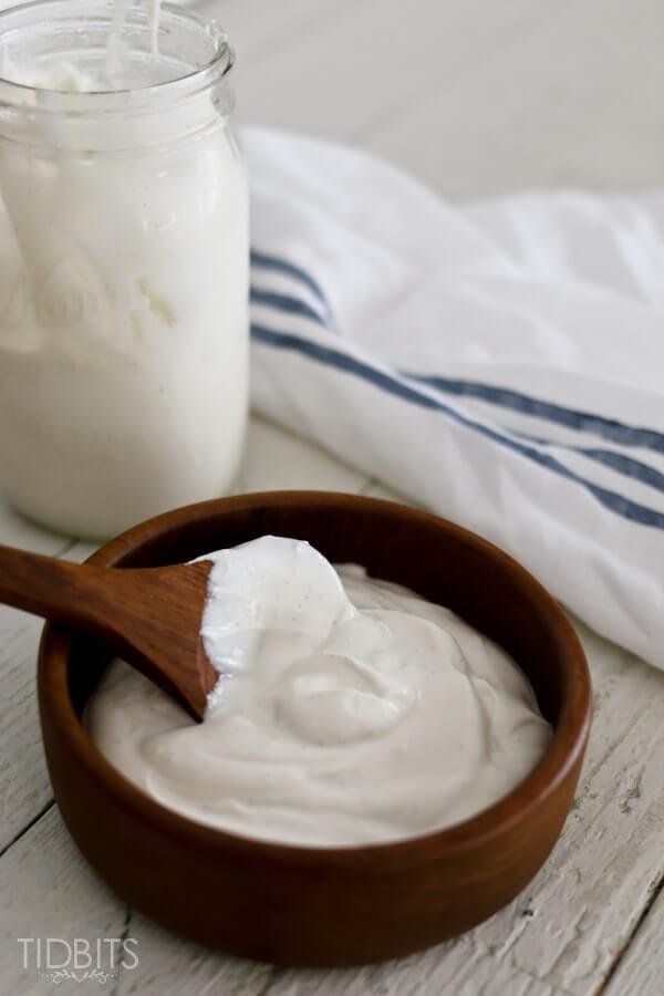 Pressure Cooker Homemade Yogurt