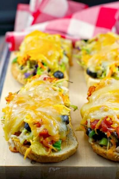 Two Cheese Tuna Mexi Melts