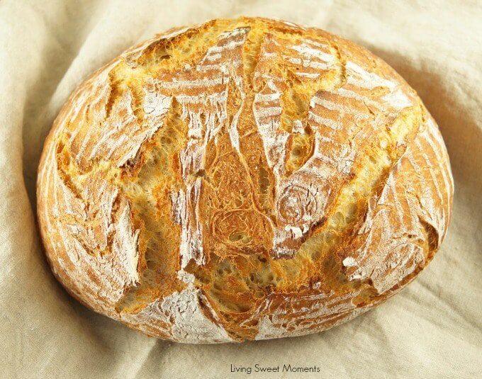 Crusty Instant Pot Sourdough Bread