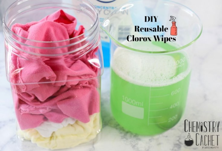 DIY Reusable Clorox Wipes (That REALLY Match the Original Ingredients!)