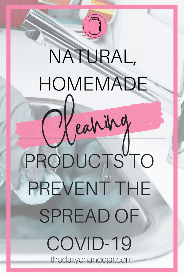With store shelves looking bare, there is no better time than now to start making your own homemade disinfecting and antibacterial cleaning products. Click here to see all the cleaning recipes. #coronavirus #cleaningproducts #natural #homemade #anitbacterial #antiviral