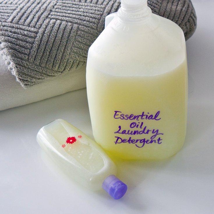 Essential Oil Laundry Detergent